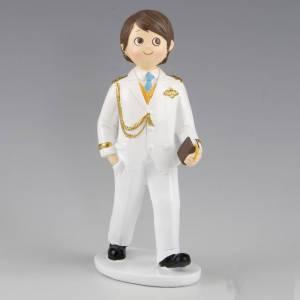 Figuras de Comunión - Figura Tarta Comunión Niño Almirante