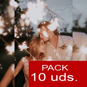 Imagen .NO TE PUEDE FALTAR INF Bengalas PACK 10 uds
